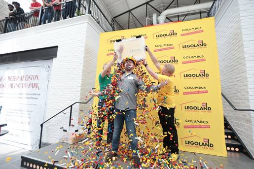 Legoland Discovery Center Bay Area is hosting a two-day Master Model Builder competition where you get a full-time job working for Lego.
