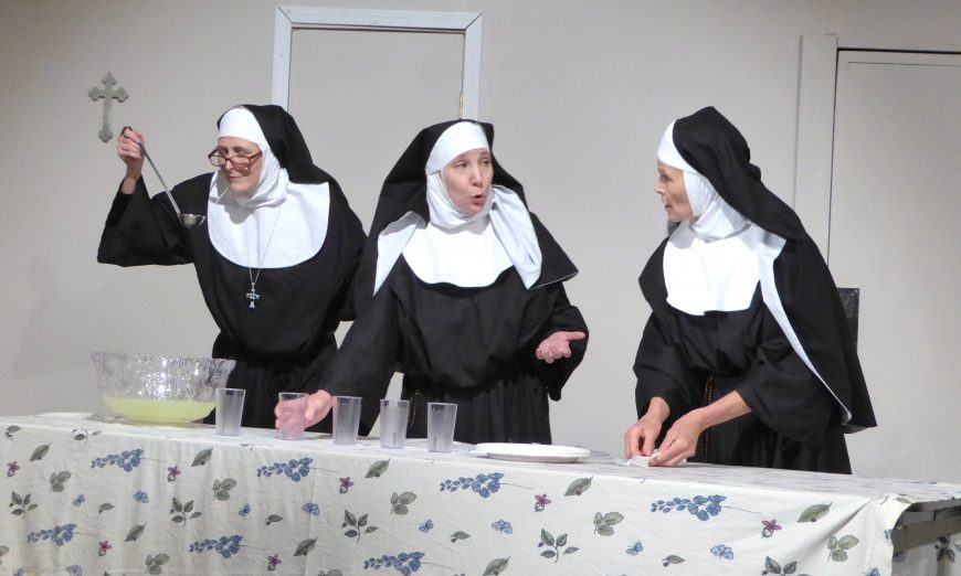 "Santa Clara Players and their show ""Drinking Habits"" was a Valentine's Day treat for locals. The story follows nuns who make wine."