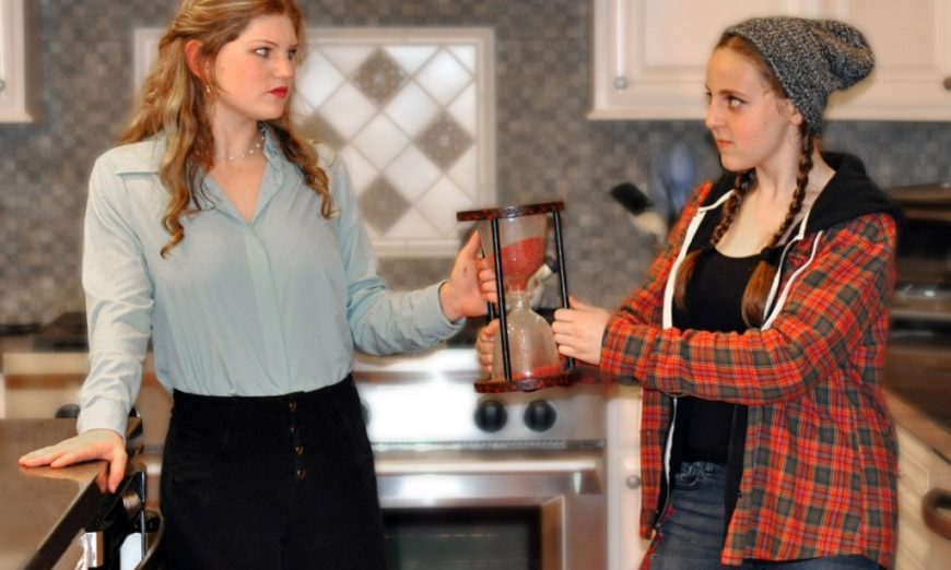 Sunnyvale Community Players presents Disney's Freaky Friday. The Junior production shows through March 8. Follow Katherine and Ellie on their journey.