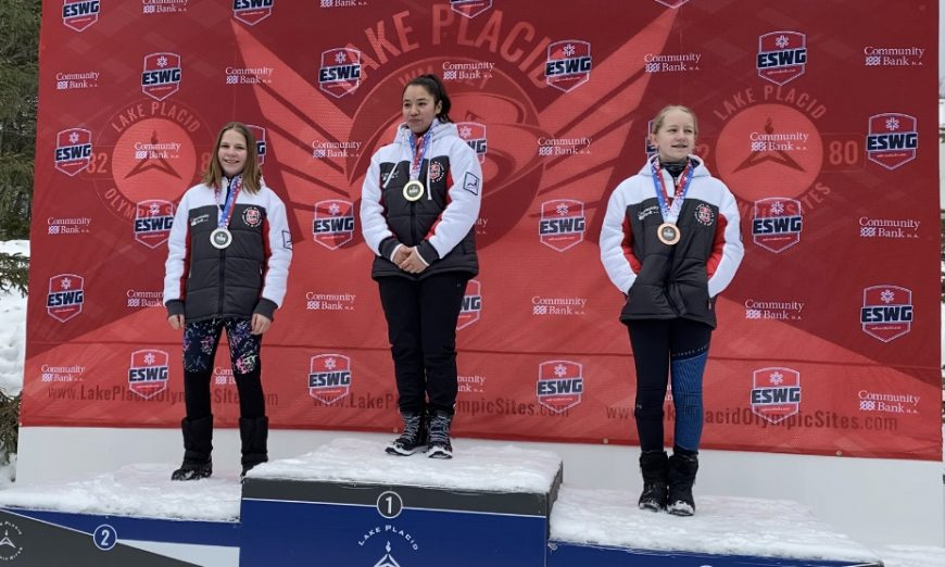Ellie Kleinheinz won a gold medal at the Empire State Games. Ellie is a 12-year-old on the USA Luge team. now, she heads to the USA Youth Nationals.
