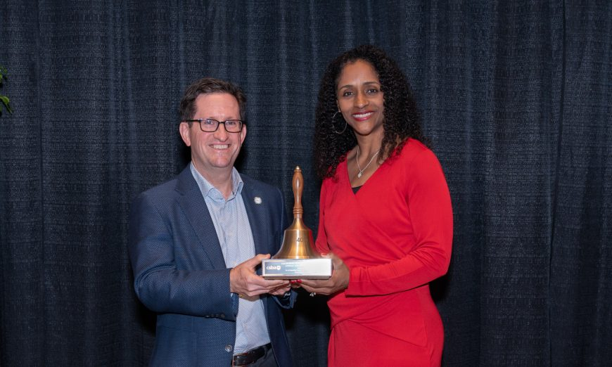 Sunnyvale School District was honored with the CSBA Golden Bell Award. Their Social-Emotional Learning Initiative was highlighted.