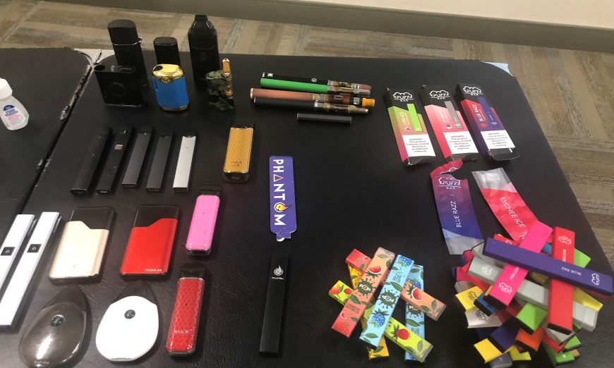 """Because of a new Federal """"Vape"""" Law, e-cigarette cartridges in all flavors, except menthol and tobacco, are illegal nationwide."""