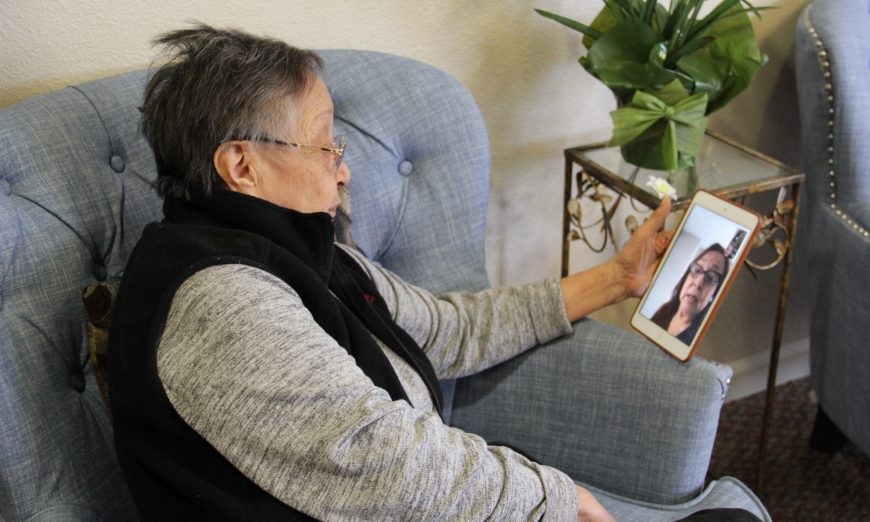 During the coronavirus pandemic, Pacific Gardens Retirement Community in Santa Clara is trying to keep their residents safe.
