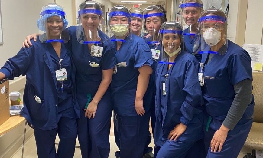 Sunnyvale non-profit, Maker Nexus, jumped in to help the COVID-19 healthcare workers. They are 3-D printing face shields for hospitals.