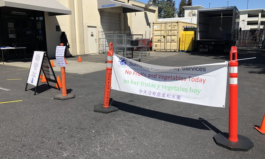 Sunnyvale Community Services is trying to offer food and financial help to people and families in the community that need help. They are accepting donations