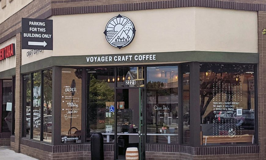 Voyager Craft Coffee in Santa Clara opened a new location during the Shelter in Place order. The COVID-19 pandemic has hurt them but they're gonna try.