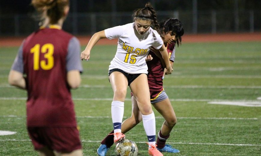 Olivia Gentry is on the Wilcox High Schoool Soccer squad. She is a senior and helped buid up the soccer program to what it is today.
