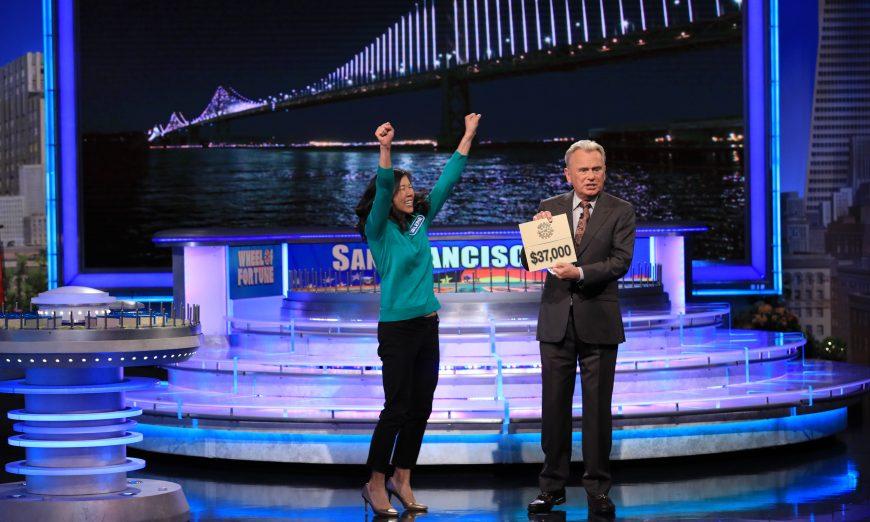 Local woman Valerie Lau wins Wheel of Fortune. She was the main winner and solved the last puzzle to secure her win at the show.
