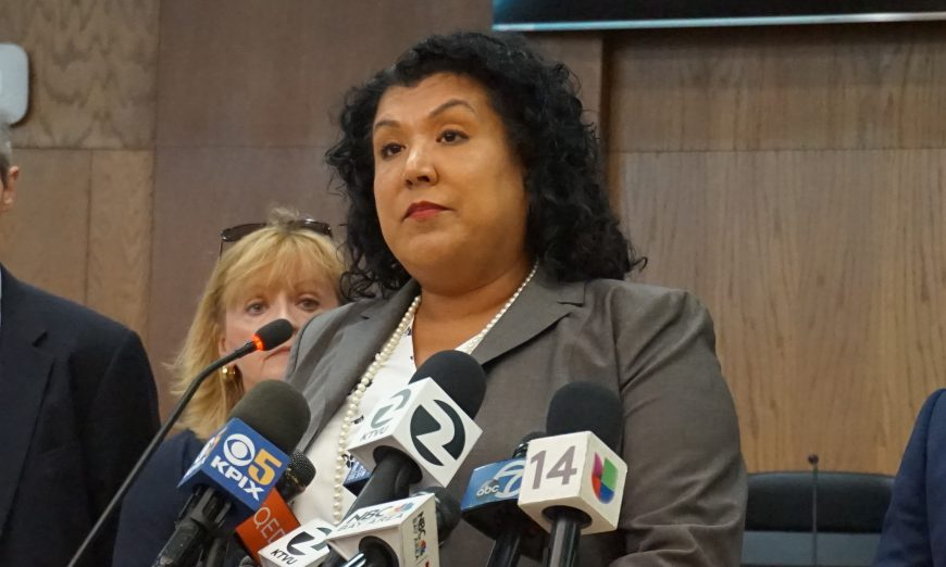 We take a look at Santa Clara City Manager Deanna Santana and her pay package. We compare it to similar cities and see it is more than average.