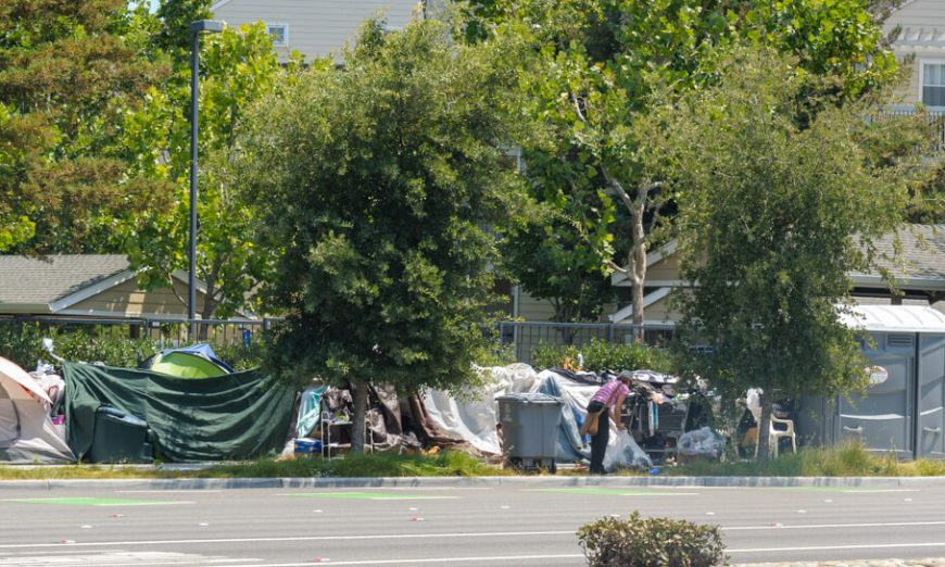 In the City of Cupertino, the city is balancing trying to keep their Homeless Encampments safe and helping the residents deal with the situation at the camp