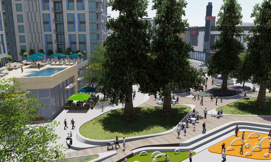 Plans for the final phase of Downtown Sunnyvale are moving ahead. The final phase includes demolishing the old Macy's site.