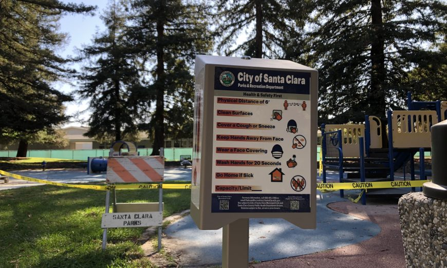 Now that Santa Clara County is in the COVID-19 Orange Tier, Santa Clara parks can reopen. Local libraries will not open yet.