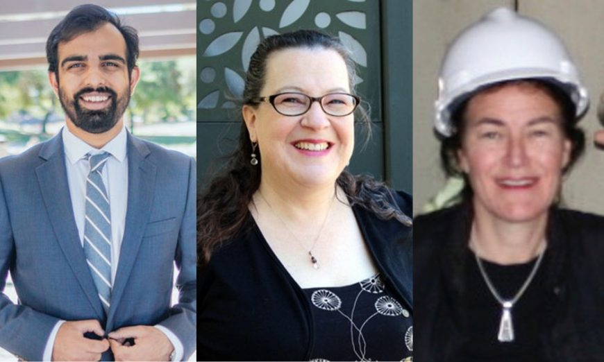 The Sunnyvale City Council Candidates for District 6, Omar Din, Leia Mehlman and Charlotte Thornton, answer The Weekly's questions before the election.