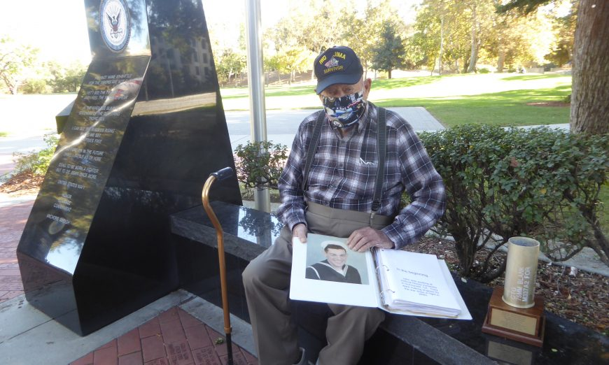 Local Veterans John G. Darouze and Ralph Robinson recall memories on Veterans Day in 2020. There is a virtual ceremony today.