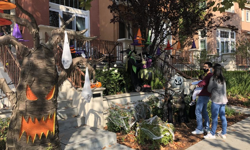 This year's Halloween festivities had to be safer due to COVID-19. The winner for the home decorating contest were announced.