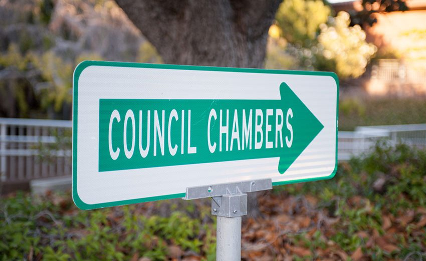 The City Council only covered Closed Session topics because Bob O'Keefe claimed the meeting was out of compliance with the Americans With Disabilities Act.