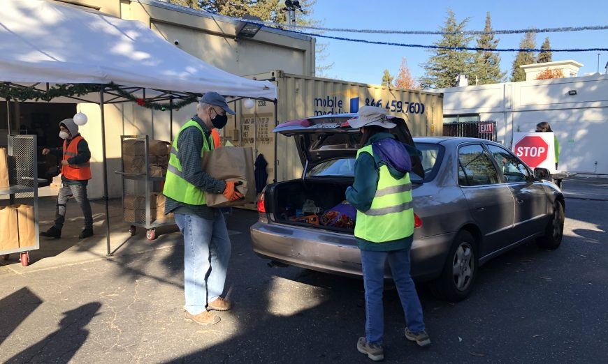 The Sunnyvale Community Services is distributing holiday toys and resources to local families who are in need. It's been a hard year for families.