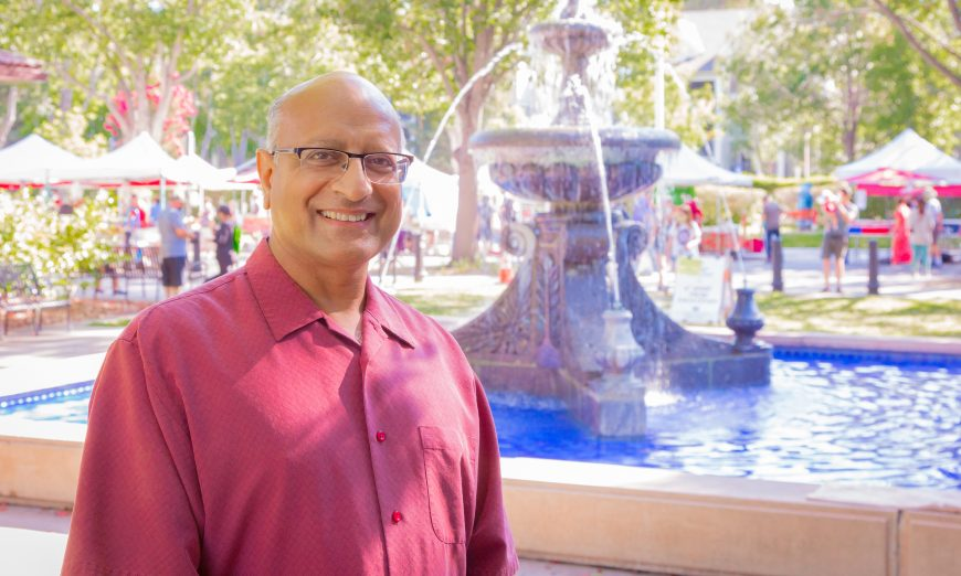 New Santa Clara Councilmember Suds Jain shares his a passion the City as well has his drive to do his part to stop climate change.