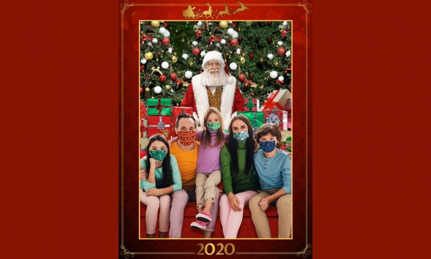 Westfield Valley Fair in Santa Clara had to cancel some of the plans they had but they still are inviting Santa Claus to meet with families.