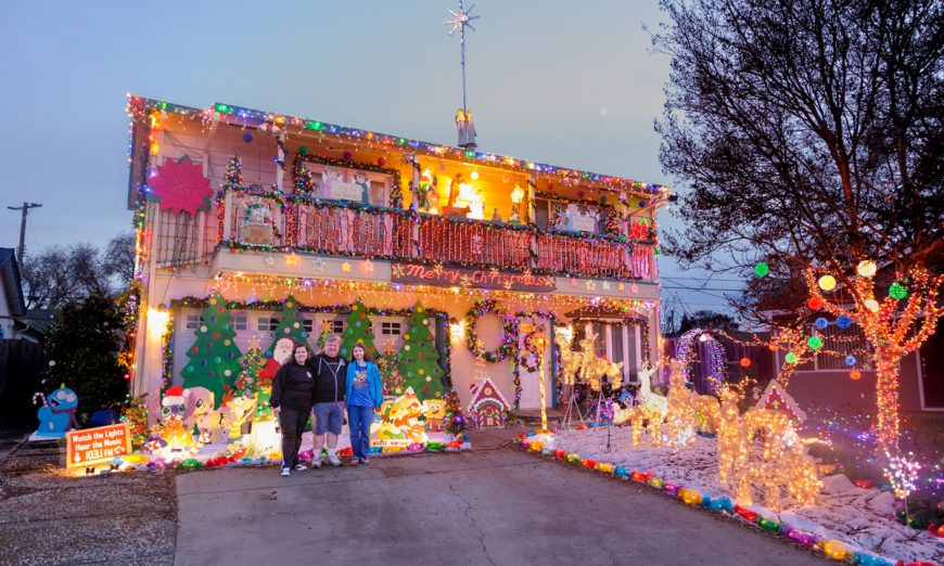 Santa Clara celebrates the winners of the 2020 Holiday Home Decorating Contest. The Chavez family shares how they created their winning home.
