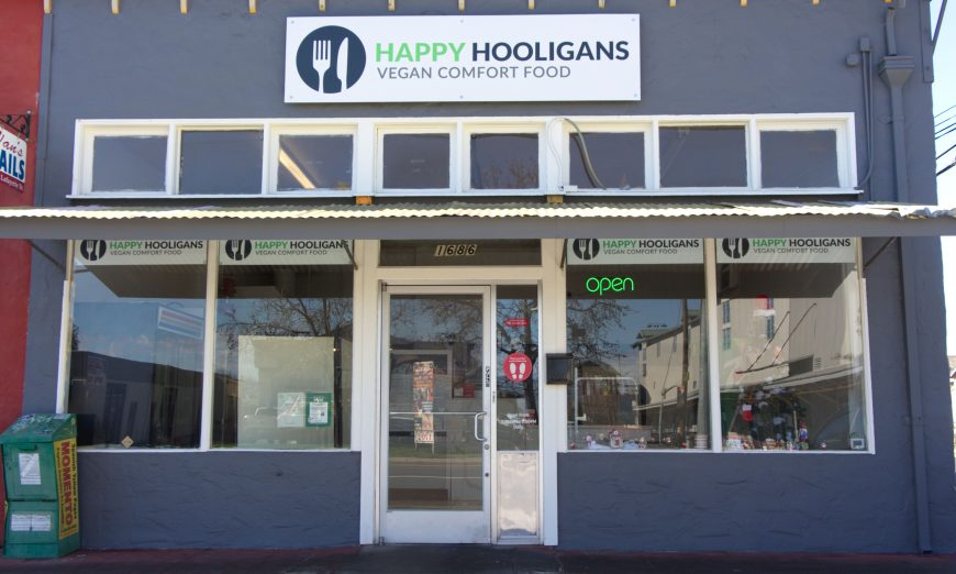Binh Vo and his business partners now have a The Happy Hooligans vegan comfort food restaurant in San Jose and in Santa Clara.