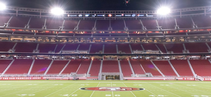 Levi's Stadium in Santa Clara is gonna be the largest COVID-19 Vaccination Site. It plans on opening on February 9 to give out vaccines.