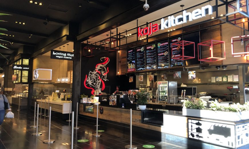 Westfield Valley Fair has partnered with Kitchen United to create MIX to help spotlight the food court restaurants inside the mall.