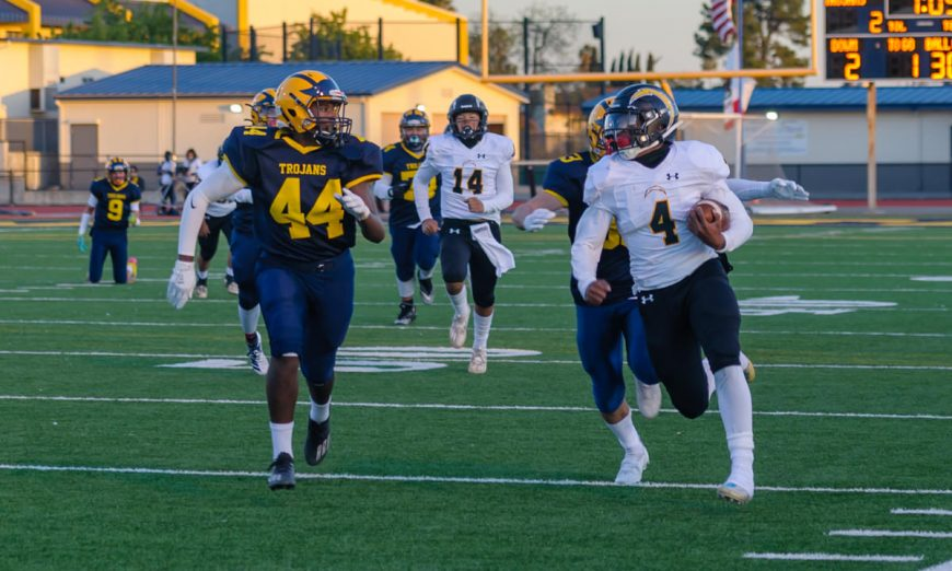 The Wilcox Chargers secured another season win over the Milpitas Trojans. Daniel Escorza played a great game.