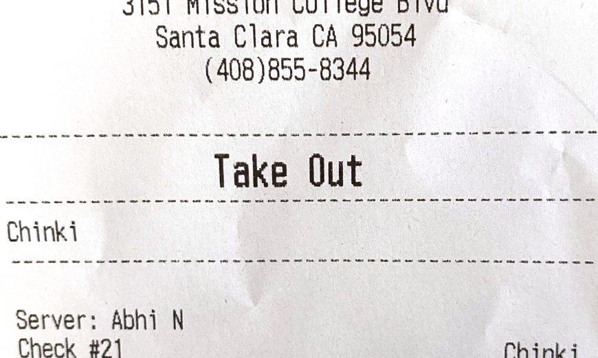 Ryan Lin went to BurgerIM Burger Bar in Santa Clara and experienced Anti-Asian racism. His receipt said Chinki which is a racist term.