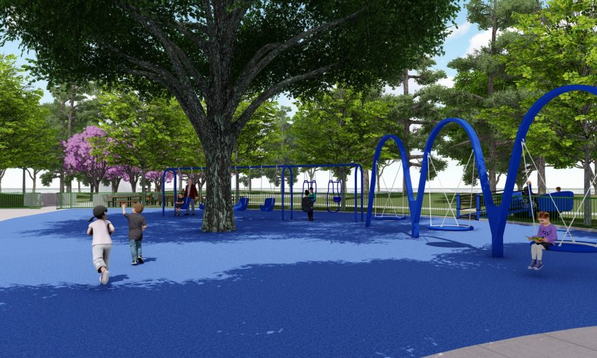 Magical Bridge Foundation All-Inclusive Playground has hit a bit of a fundraising wall. They are hoping to get more funds to complete the playground in Santa Clara.