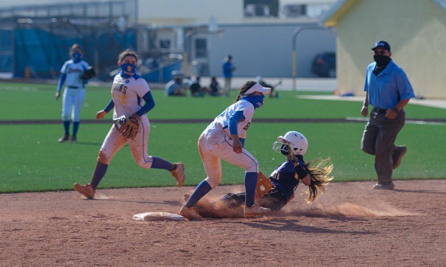 The Santa Clara Bruins Softball team had their season opener. Vanessa Calvillo and Abigail Klahold led their team.