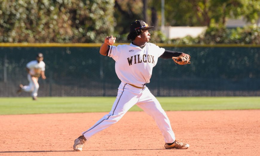 Wilcox Chargers baseball team took on the Los Altos Eagles. The Chargers played well but lost their lead. The Eagles clutched the win.