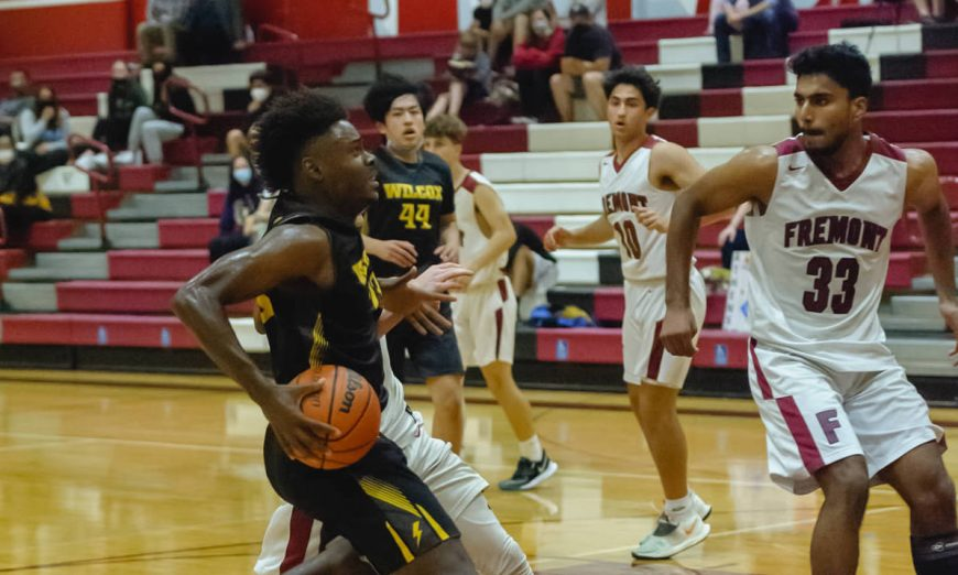 The Wilcox Chargers basketball squad won El Camino versus the Sunnyvale Fremont Firebirds in their season finale.