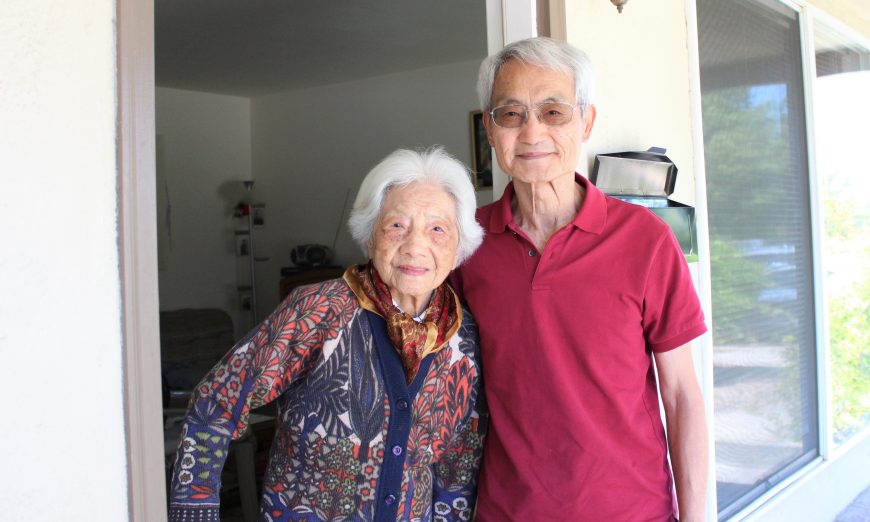 Lo Wong Chang of Sunnyvale celebrated her 100th Birthday in June. She was born in Shanghai, China and then moved to the US.