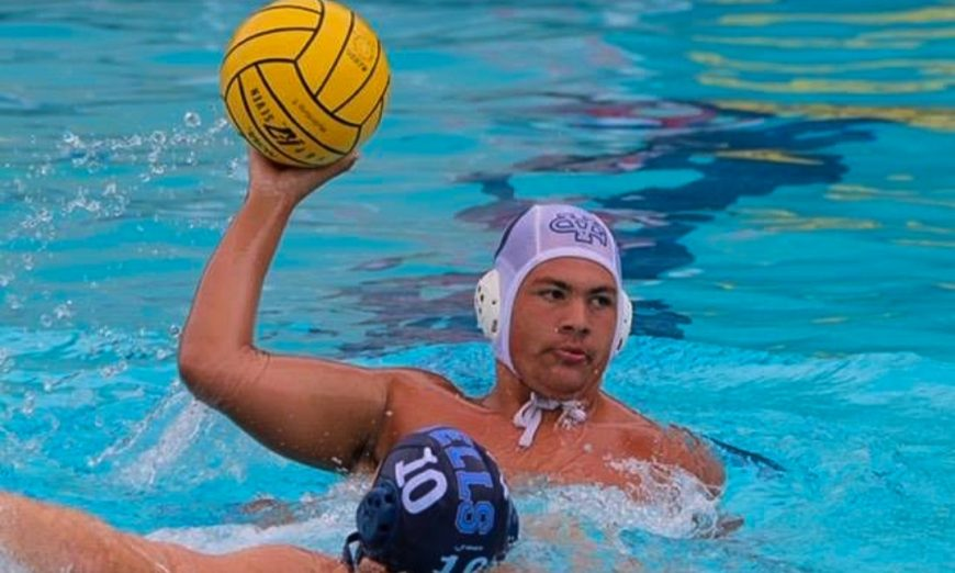 Evan Stapleton is a master at water polo. He is working and learning through his autism diagnosis and wants to be an occupational therapist.