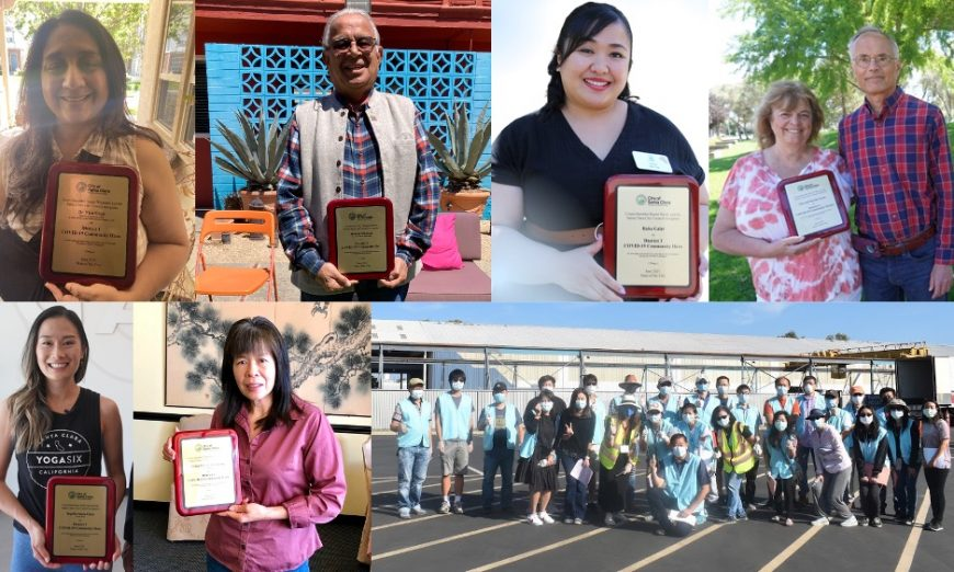 Santa Clara's State of the City celebrated the 2021 Community Hero of the Year Awards. Residents, businesses, and churches were honored.