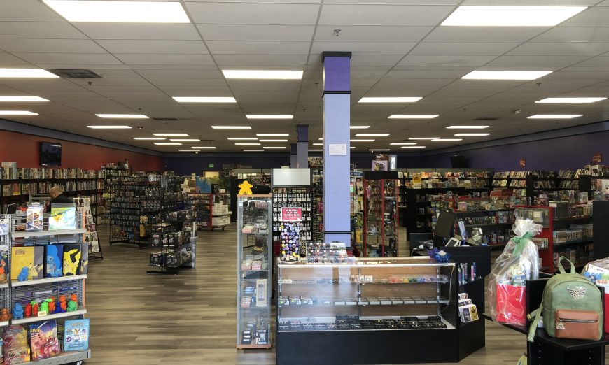 Anna Warren, owner of Illusive Comics & Games and Isle of Gamers, talks to the Silicon Valley Voice about the shop's move.