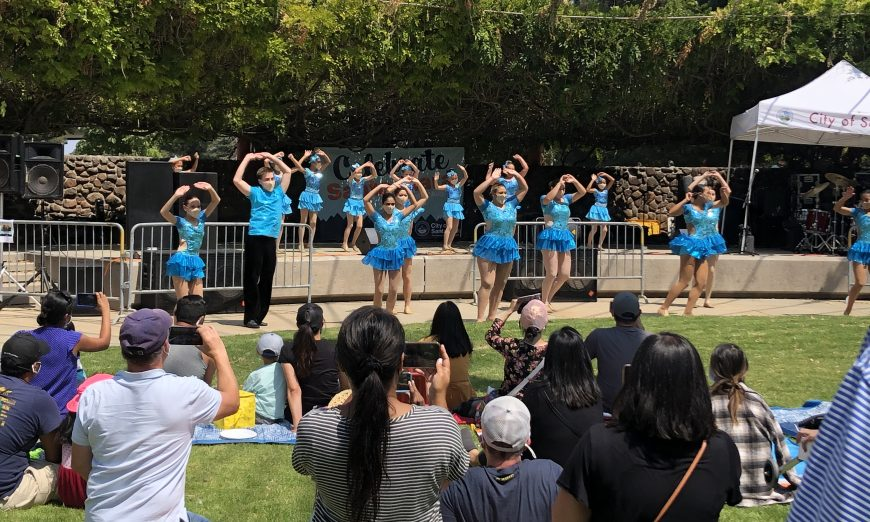 Celebrate Santa Clara welcomed residents back to Central Park. It was the first big city event since COVID-19 began.