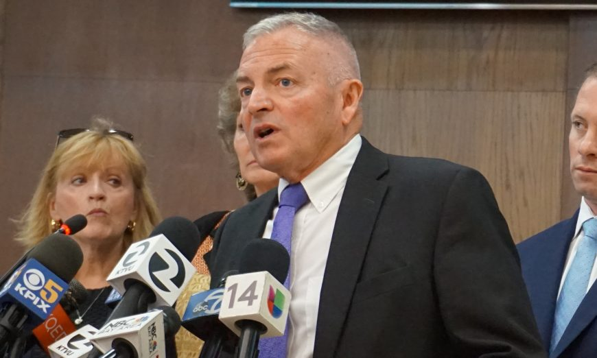 City Attorney Brian Doyle has been dismissed. Mayor Lisa Gillmor and Council Member Kathy Watanabe voted no.