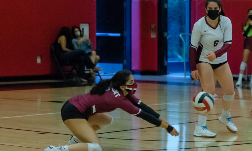 The Fremont Firebirds varsity volleyball squad played hard against the Castilleja Gators and got some sets, but ultimately lost.