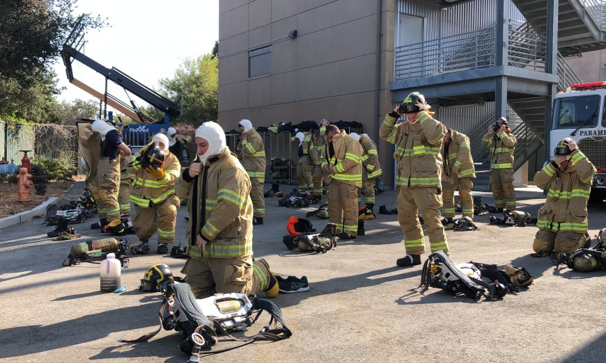 Mission College has started their Firefighter 1 Academy where they teach Firefighters of the future in Santa Clara.