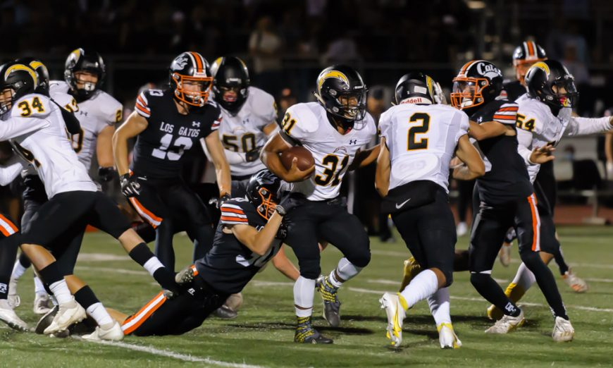 The Wilcox Chargers took on the Los Gatos Wildcats and fought hard but ended up losing to them in their first game of the season.