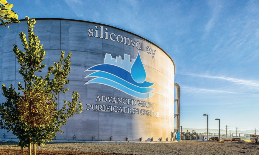 Santa Clara Valley Water District plans on expanding the Silicon Valley Advanced Water Purification Center to help with the drought.
