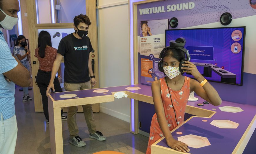 Westfield Valley Fair has an interactive Virtual Reality museum where children and adults can be inspired by VR.